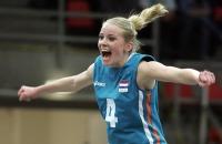Schönster Jubel: Tess von Piekartz (Holland) direkt nach dem letzten Punktgewinn
