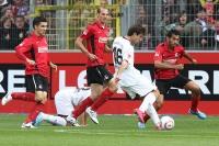 Jan Moravek erzielt das Tor zum 0:1