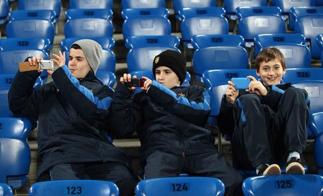 Die Nachwuchsfotografen des FC Basel