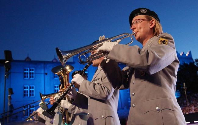 Das Heeresmusikkorps aus Ulm
