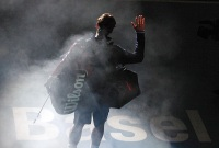 Roger Federers Auftritt wird besonders inszeniert