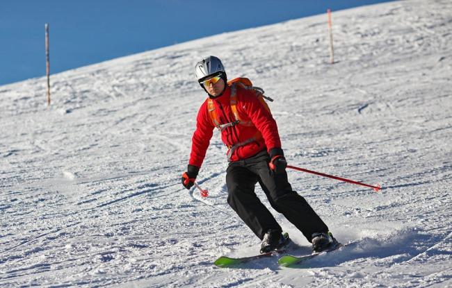 Skifahren mit dem Lowepro Photo Sport 200 AW