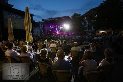 Stimmen-Festival 2017 - Chaka Khan und FatCat(Support) auf dem Marktplatz Lörrach