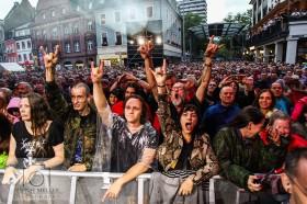 Stimmen-Festival 2017 - ZZ Top und The Red Devils (Support) auf dem Marktplatz Lörrach