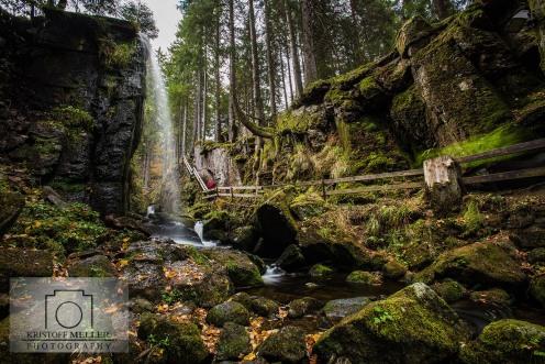 Menzenschwander Wasserfall / Geißenpfad / Albsteig - Schwarzwald