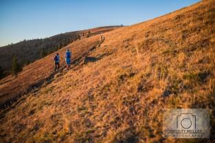 Trailrunning - Sonnenuntergang am Belchen/Schwarzwald